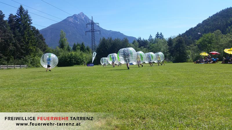 Bubble-Soccer Turnier