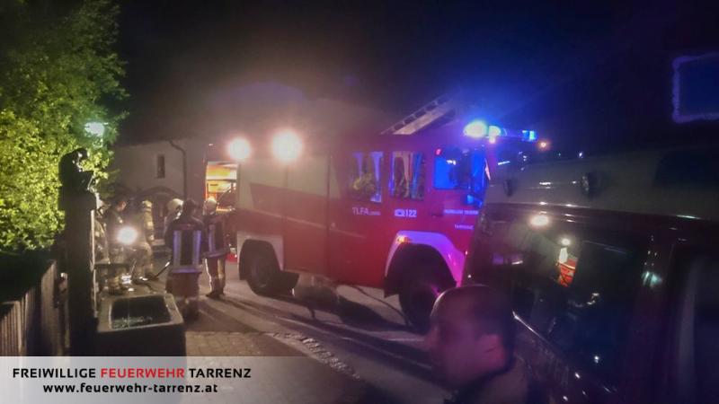 Brand im Freien