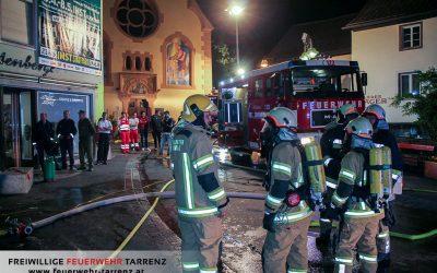 Gebäudebrand Imst