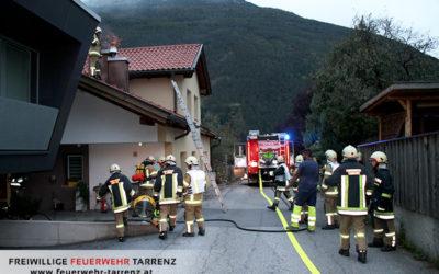 Kaminbrand Pfassenweg